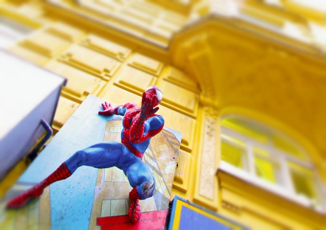 Spiderman ist der Proto-Liberale