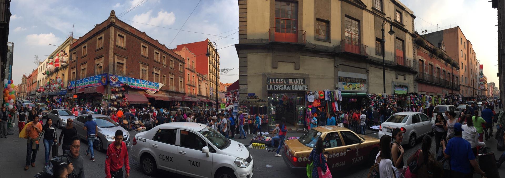 Mexiko City – Stadt ohne Enden