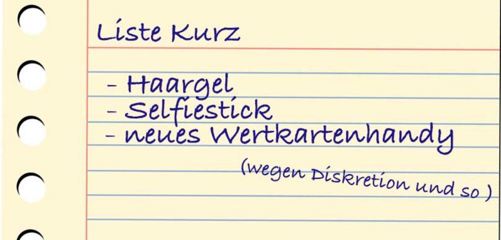 Liste Kurz